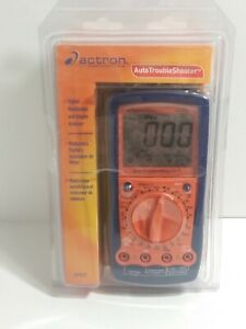 Actron Cp7677 Automotive Digital Multimeter Engine Analyzer Trouble Shooter