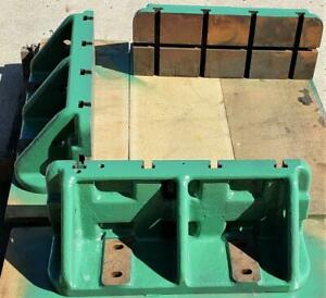 Heavy Duty Cast Angle Plate Excellent Condition