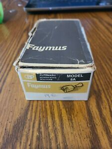 Vintage Faymus Automatic Numbering Machine Model 8a