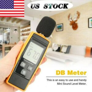 Sound Level Meter Digital Lch Display Noise Tester Measurement 30 130db Decibel