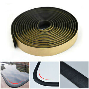 Auto Front Windshield Seal Strip Parts Window Cover Wraps Trim Edge Mouldings