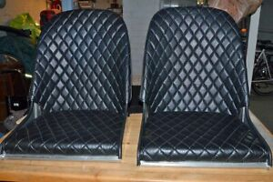 Hot Rod Bomber Seats With Removeable Upholstery Bucket Seats 2 Used