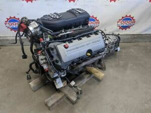 2011 2014 Mustang 5 0 Coyote Dropout Engine With 6 Speed Manual Transmission