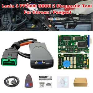 Pp2000 Obdii 2 Diagnostic Tool With Diagbox V7 83 Software For Citroen Peugeot