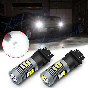 For Gmc Sierra Chevy Silverado 3157 Led Strobe Flashing Reverse Light Bulbs Lamp
