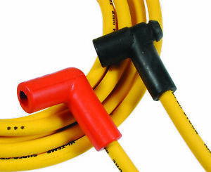 Accel 4050 Spark Plug Wire Set Yellow