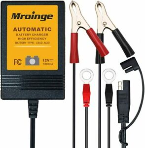 Mroinge Mbc010 Automotive Trickle Battery Charger Maintainer 12v 1a Smart Automa
