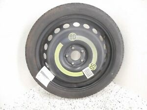 09 16 Audi A4 Emergency Spare Tire Wheel Donut Oem 125 70r19 19x4