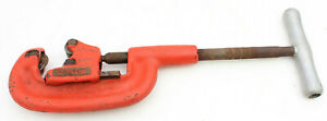 Ridgid Pipe Cutter Heavy Duty 2a 202 1 8 To 2 Shop Plumber Plumbing Tool