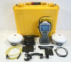 Dual Trimble R8 Model 3 Tsc3 With Access 2 4ghz Radio Complete Gnss Rtk Kit