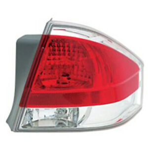 Fo2801214n Tail Lamp Assembly Passenger Side Fits 2008 2008 Ford Focus