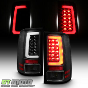 New Black Light Tube 2007 2013 Gmc Sierra 1500 2500 3500 Led Tail Lights Lamps
