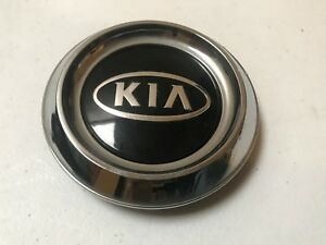 Kia Sorento Oem Wheel Center Cap Chrome Black 52960 3e020 2003 2004 2005 2006