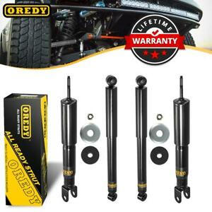 4 Front Rear Set Shocks Strut 344381 344384 For Chevy Avalanche 1500 4wd 02 06