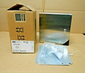 Rittal Wm121206n4 Stainless Steel 304 Enclosure 12x12x6 W Backplate 2 Avail