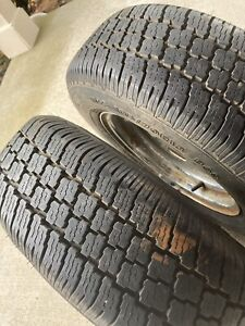 185 70 R13 Steelbelted Radial Trailer Tires And Rims M S Mounted On Rims