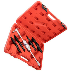 Blind Hole Pilot Bushes Bearing Gear Puller Slide Hammer Remover Tool Kit