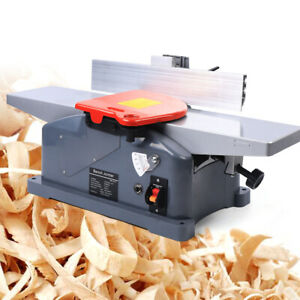 110v 50hz 6 Inch Woodworking Bench Jointer For Planing Wood Bamboo W Handle