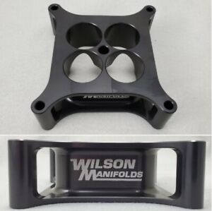 Wilson Manifolds 004150 4150 Carb Spacer 2 00 4 Hole Tapered New