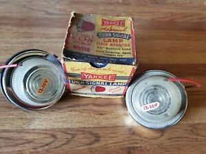 Vintage 1950 s Yankee Parking Turn Signal Lamps