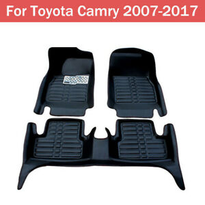 Car Floor Mats Front Rear Liner Waterproof Mat For Toyota Camry 2007 2016 2017
