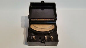 Vtg General Electric 8ap9vbh11 Ac Volts Meter 150 600 Volt Type Ap 9 Bakelite