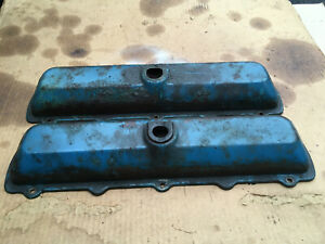 Oldsmobile V8 Valve Covers Oem 260 307 330 350 400 403 425 455