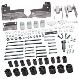 3 Body Lift Kit Front Rear Extension For Chevrolet Silverado 1500 2007 13