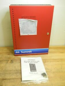 Summit 6 zone Fire Alarm Control Panel W Lcd Display And Dialer Sfc 200 6ddr