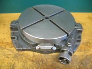 Moore Jig Grinder Borer 10 Low Profile Rotary Table W quick Position Feature