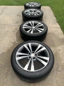 2015 Mercedes S550 Oem Wheels And Tires 19 Run Flat Goodyear Tires