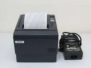 Epson Tm t8iiip Model M129c Point Of Sale Thermal Receipt Printer Power Supply