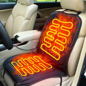 12v Car Truck Heated Front Seat Cushion Cover Heating Heater Warmer Pad Winter