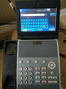 Polycom Vvx 1500 Voip Phone W Power Supply Video Endpoint