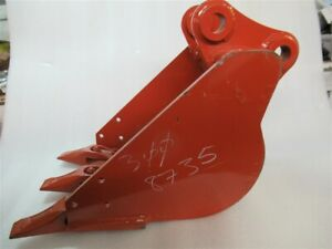 Ditch Witch 12 3 Tooth Backhoe Bucket