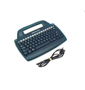 Alphasmart 3000 Portable Laptop Keyboard Word Processor With Usb Cable batteries