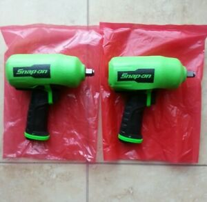 Snap On Pt850 1 2 Drive Green Impact Wrench With New Green Cover All New Parts
