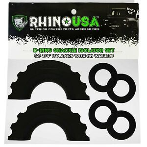 Rhino Usa D Ring Shackle Isolators 2 With Washers Included 4