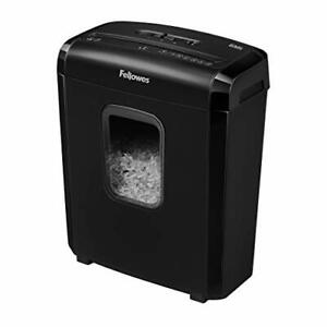 6m5 6 sheet Powershred Micro cut Deskside Paper Shredder Black 3 5 Gallon