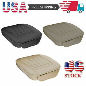 Car Front Full Surround Seat Cover Breathable Pu Leather Pad Mat Chair Cushion