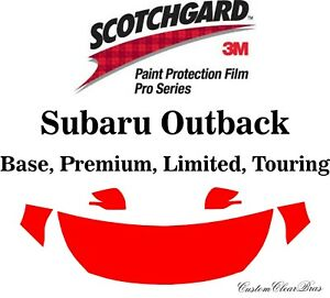 3m Scotchgard Paint Protection Film Pro Series Clear 2020 2021 Subaru Outback