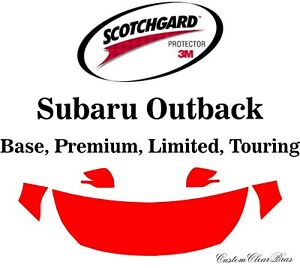 3m Scotchgard Paint Protection Film Clear Pre Cut 2020 2021 Subaru Outback