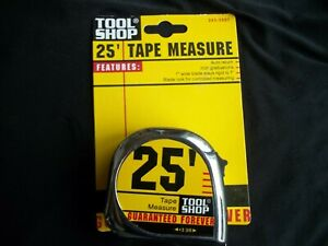 25 Tape Measure By Tool Shop
