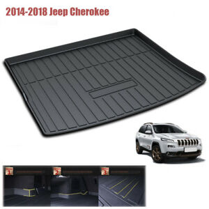 All Weather For Jeep Cherokee 2014 2018 Rear Cargo Liner Trunk Tray Floor Mat
