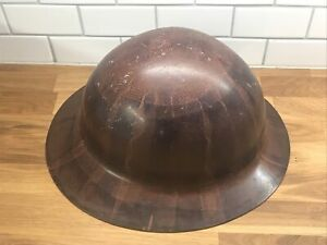 Vintage Msa Skullgard Type K Hard Hat Full Brim Miners Icon Workers