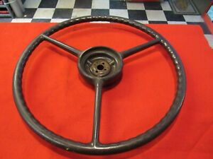 1939 40 Packard Junior Steering Wheel