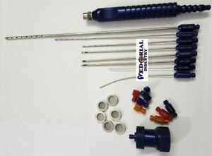 Luer Lock Injector Infiltration Cannula With Nano Fat Transfer Kit Plastic Surg