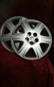 2 Used 2003 2004 2005 2006 2007 2008 Corolla 15 Hubcap Wheel Cover 61133