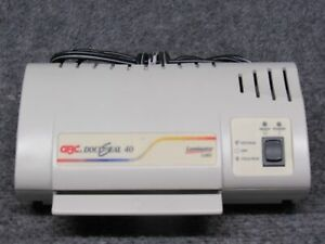 Gbc Docuseal 40 Home office Small 4 Card Hot Laminating Machine laminator