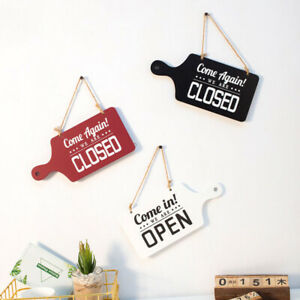 1pc Wooden Sign American Style Decorative Delicate Vintage Wood Hanging Sign